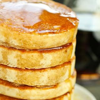 "Fluffy Gluten-Free Vegan ""Buttermilk"" Pancakes."