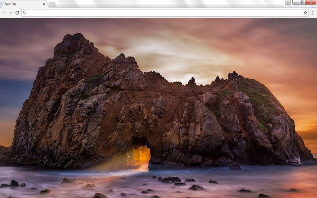 Beautiful New Tab Images with Bing Search