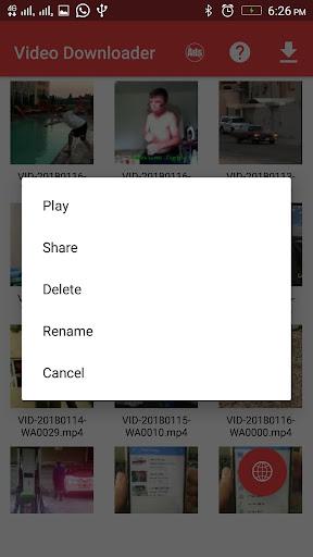 Video Downloader 1.1.0 screenshots 4