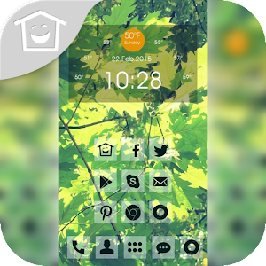 Life leafy theme