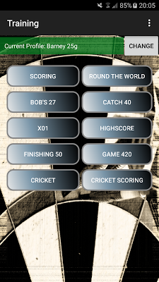Darts Scoreboard: My Dart Training - screenshot