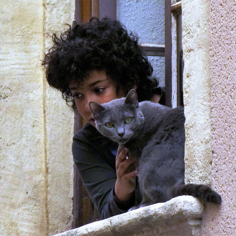 Mimi e il suo gatto (Paul Gauguin) di onder1319