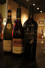 Photo: From crisp and clean to rich and warm, these three wines were wonderful!