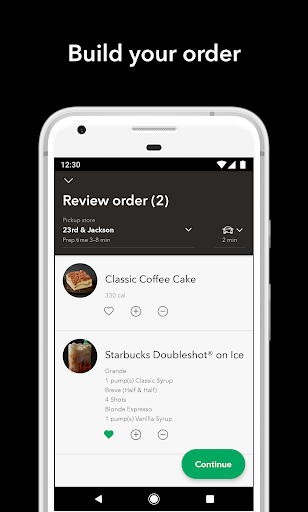 Starbucks for Android apk 4