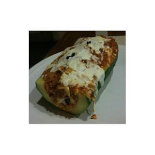 Quinoa-Stuffed Zucchini