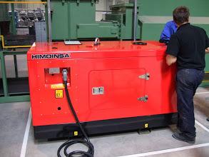 Photo: Generator Yanmar 17 kva, Calsonic Kansei, Ploiesti