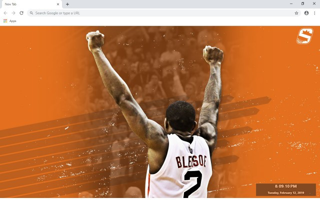 Phoenix Suns New Tab & Wallpapers Collection