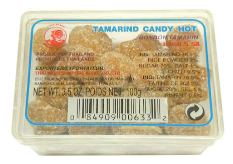 Tamarind Candy Hot 100g Cock