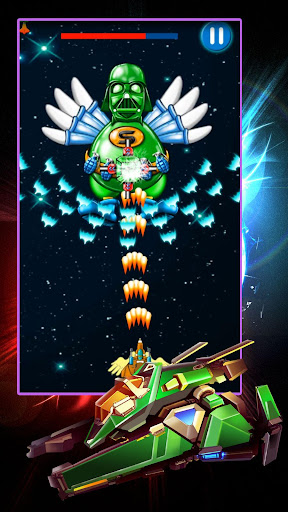 Chicken Shooter: Galaxy Attack  captures d'écran 2
