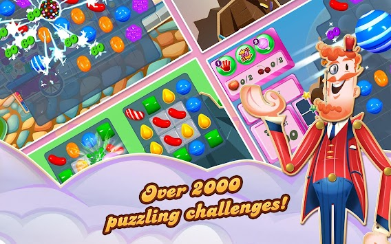 Candy Crush Saga APK screenshot thumbnail 14