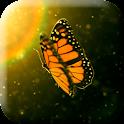 Beautiful Bautterfly 3D LWP icon