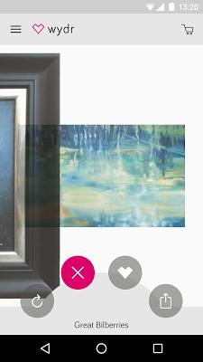 wydr: art & original paintings - screenshot