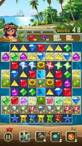 Paradise Jewel: Match 3 Puzzle apktram screenshots 5