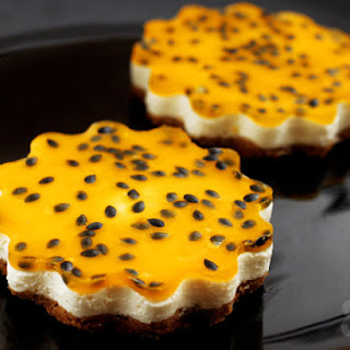 Passionfruit Yogurt Cheesecake