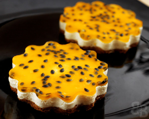 Passionfruit Yogurt Cheesecake Recipe