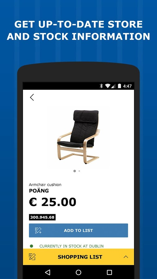 Ikea store android apps on google play for Ikea driving directions