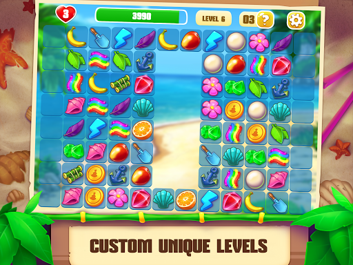 Onet Paradise: connect 2 tiles, pair matching game filehippodl screenshot 9