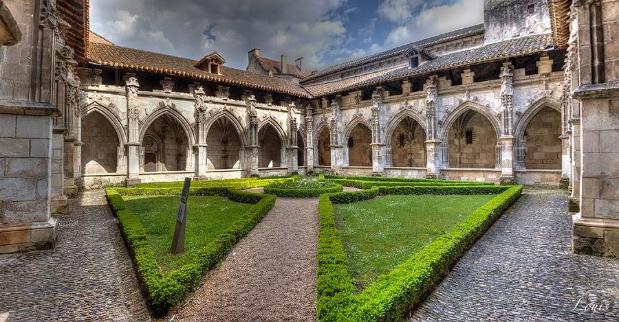 Клуатр кафедрального собора Каора