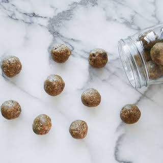 Peanut Butter Protein Bliss Bites.