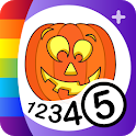 Color by Numbers - Halloween + icon