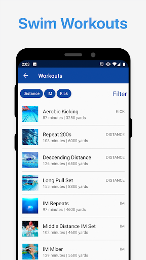 MySwimPro Swim Workouts, Training Plans & Tracking 5.0.56 screenshots 2