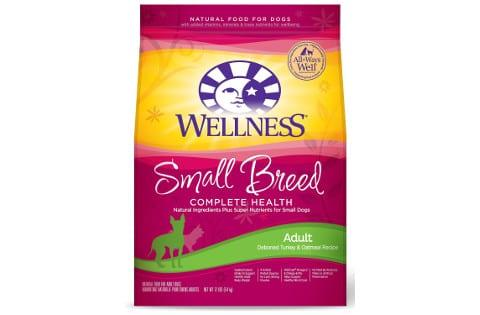 Wellness Complete Health Small Breed Puppy Turkey, Oatmeal & Salmon Recipe