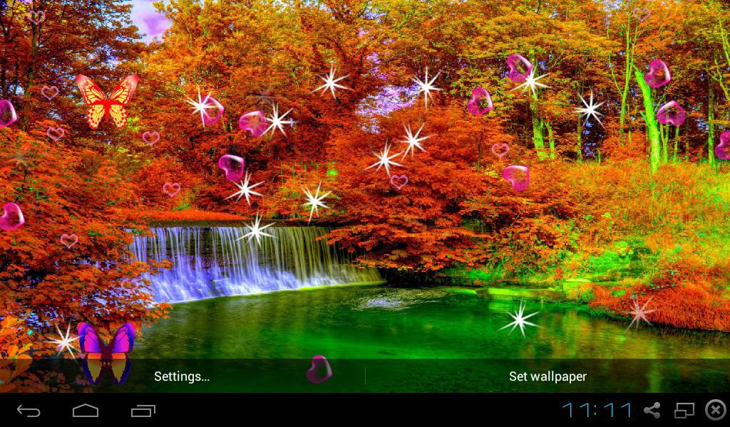 3d autumn live wallpapers android apps on google play