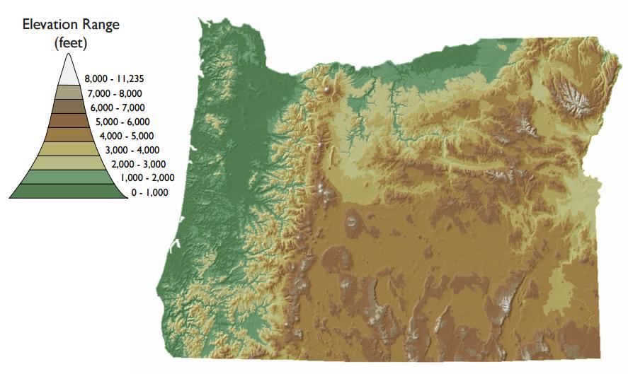 Mr. Grassman's 4th Grade Classroom: Oregon Maps