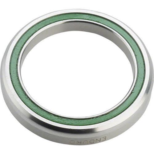 "Enduro 1-1/8"" 36 x 45 degree Stainless Steel Angular Contact Bearing 30.2mm ID x 41mm OD"