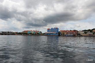 Photo: Vista panoramica del centro de Willemstad, Curazao