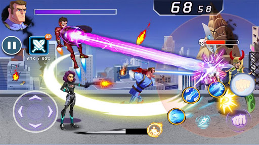 Captain Revenge - Fight Superheroes apkmr screenshots 16