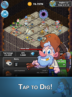 Tap Tap Dig - Idle Clicker Game (Unreleased)- screenshot thumbnail