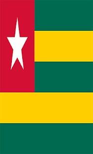 Togo Flag Wallpapers - náhled