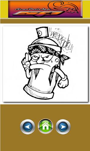 Drawing Graffiti Characters 1.1.2 screenshots 11