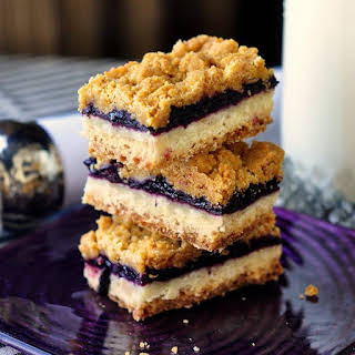 Blueberry Crumble Bars.