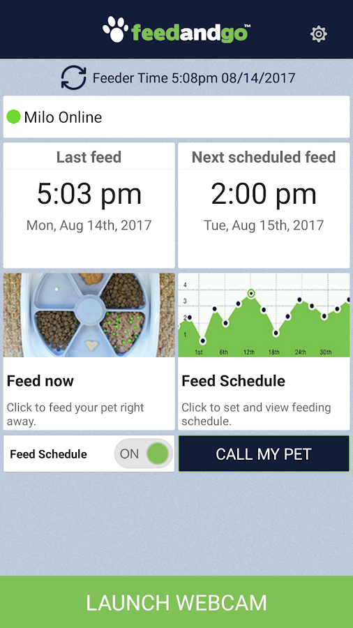 Feed and Go - Smart Pet Feeder- screenshot