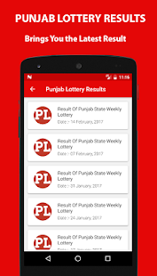 Punjab lottery Results- screenshot thumbnail