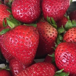Strawberry Pie with Margarita Glaze
