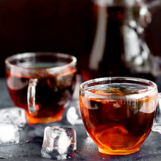 Iced Pu-erh Tea.