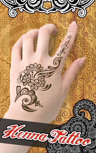 新莫海蒂指甲花纹身设计