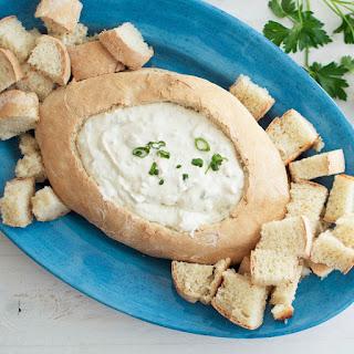 Cream Cheese Clam Dip.