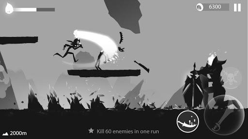 Stickman Run: Shadow Adventure screenshot 5