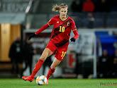 Le tout premier but de Justine Vanhaevermaet avec les Red Flames