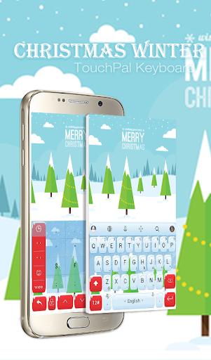 TouchPal Winter Keyboard Theme