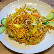 Seasonal Green Chow Mein