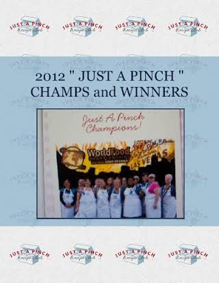"2012 "" JUST A PINCH "" CHAMPS and WINNERS"