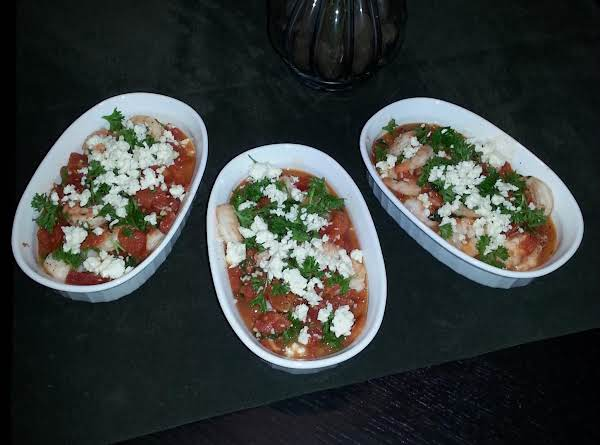 Shrimp With Tomato And Feta Recipe