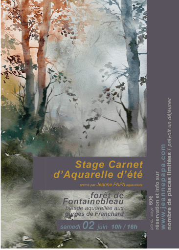 jeanne PAPA aquarelle _ STAGE NEMOURS 04