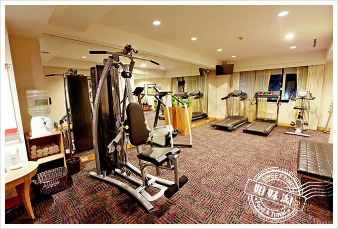 花蓮翰品酒店健身房