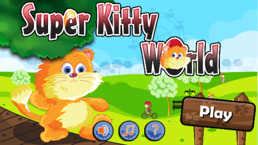 Super Kitty World - Girls Game